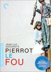Pierrot le fou, 1965 (Directed by Jean Luc Godard & starring & Jean-Paul Belmondo with Anna Karina.)